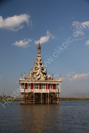 Temple in Inle Lake
