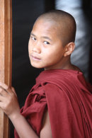 Novice Monk, Inle Lake, Myanmar