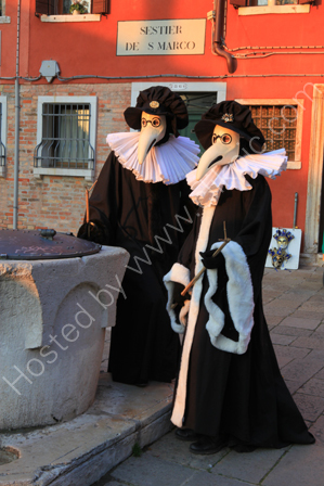 Dressed for Carnivale, Venice
