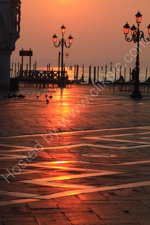 Sunrise in St Marks Square