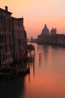 Sunrise over the Grand Canal