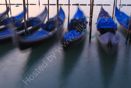 Ghostly Gondolas at Dawn