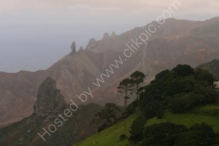 Volcanic Landscape, St Helena