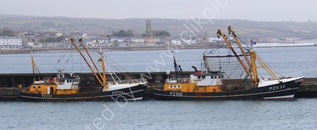 Fishing Boats in Newlyn Harbour