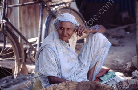 Woman in Shop,India
