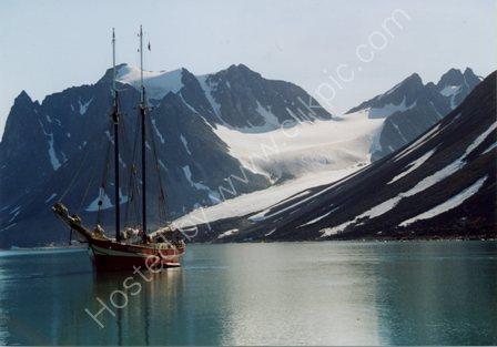 Noorderlicht in Spitsbergen