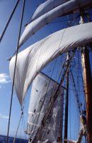 Sailing in Soren Larsen