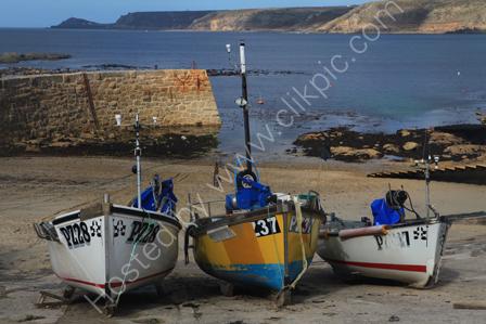 Fishing Boats in Sennen Cove
