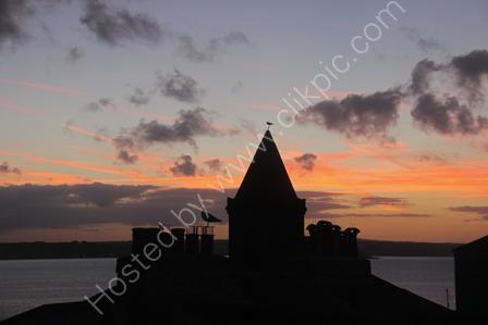 Sunrise over Penzance