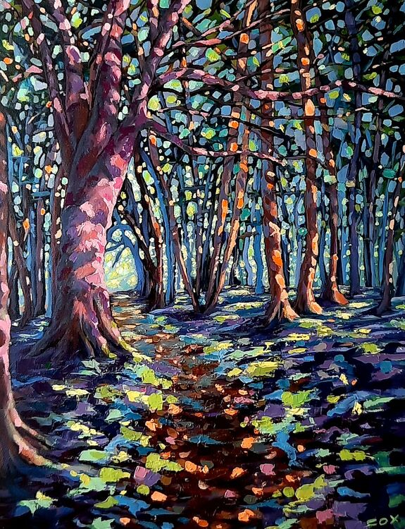 """Sparkling spring oil on canvas 20"""" x 16"""" SOLD"""