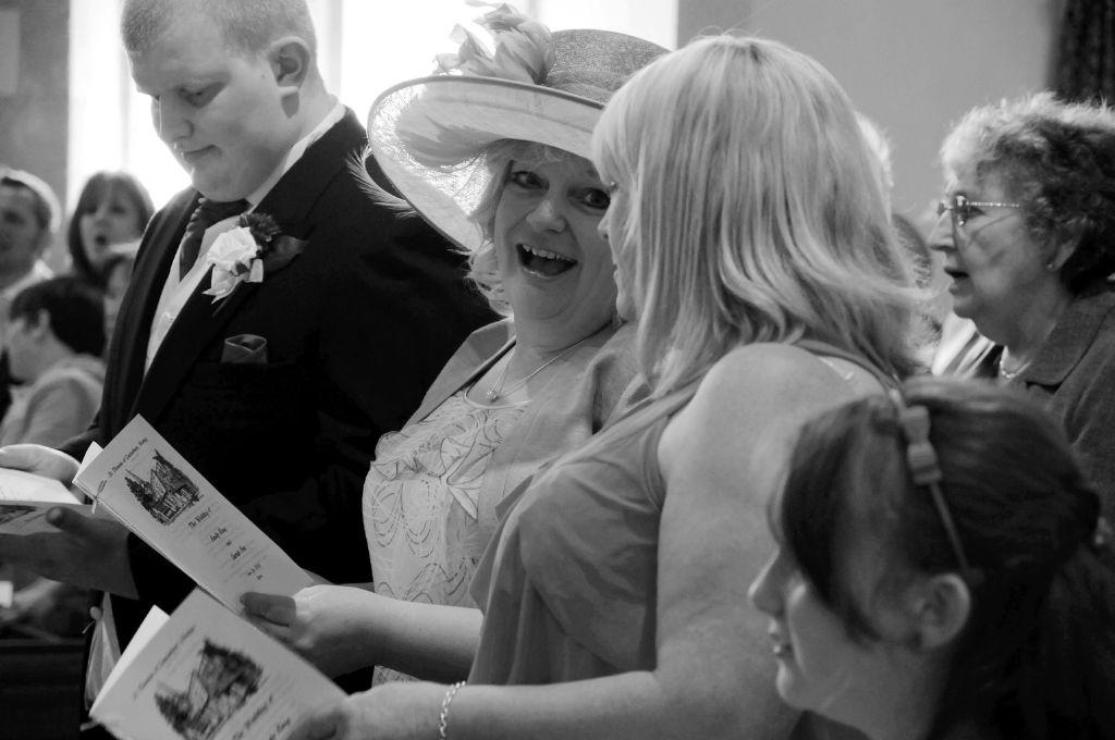 Andy and Sarah's wedding