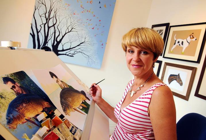 Artist Louise Hight