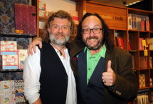 Hairy Bikers book signing 02