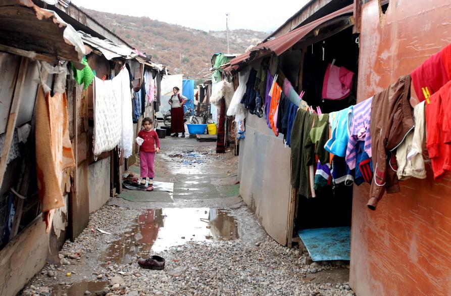 Montenegro Gypsy Camp