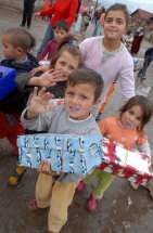 Montenegro Gypsy Camp Shoe box appeal