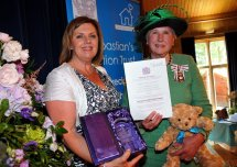 Sebastian's Action Trust receives the Queen's Award for Voluntary Services