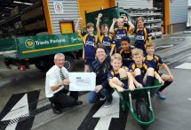 Opening of Travis Perkins new store