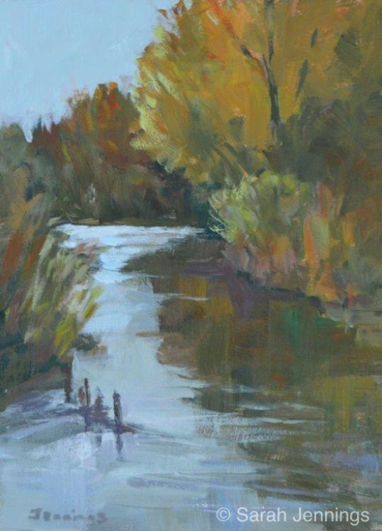 Bend in the river £50