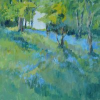 Bluebells near Easton on the Hill (sold)