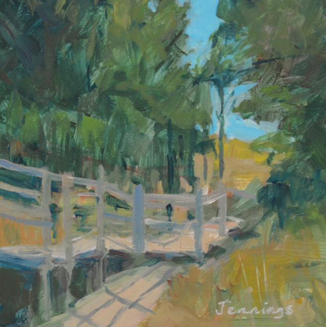 Boardwalk Shadows  £45