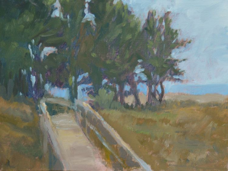 Boardwalk to the beach, Holkham  (sold)