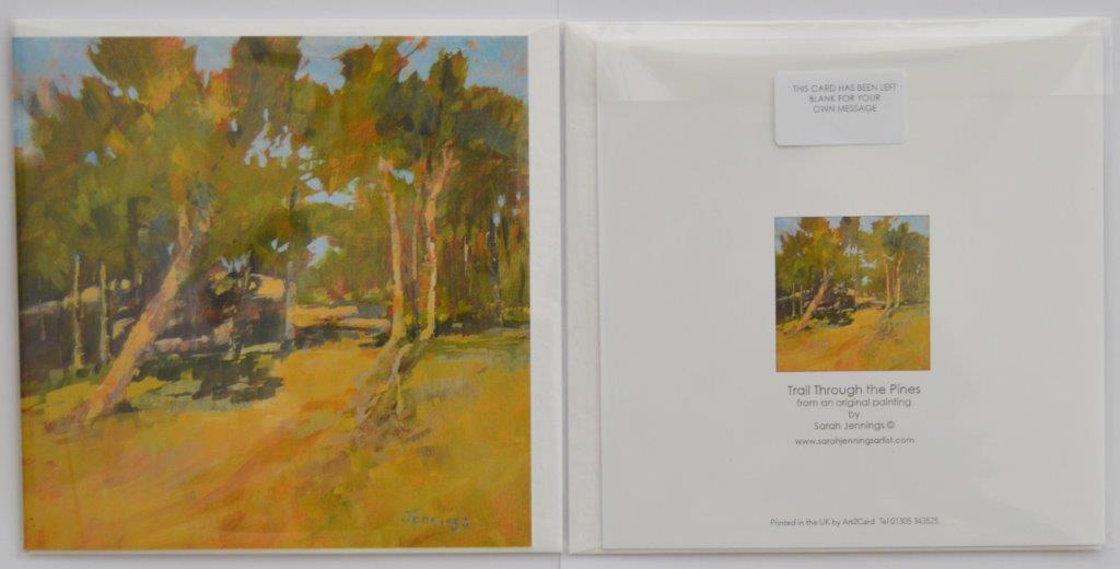 Trail Through the Pines (Pack of 4 cards)