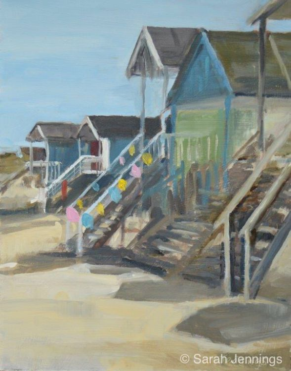 Ready for the party, Wells next the Sea (SOLD)