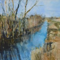 Sedge and willow, Wicken Fen (Sold)