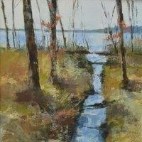 Spring stream, Barnsdale Woods (Sold)