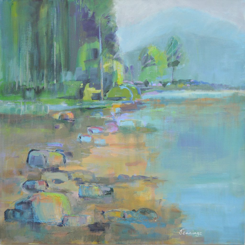 Water's Edge (currently on exhibition at Peterborough Art Gallery priced £408 framed)