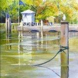 High Tide, Half Tide Lock Richmond