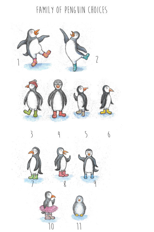 Choices of penguins
