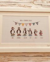 Penguin prints