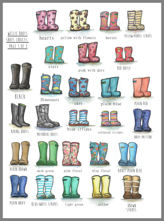 Choices of boots page 1 of 2