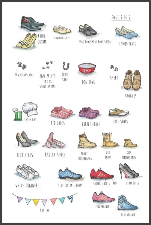shoe choices
