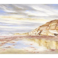 'Low Tide Brighstone Bay'