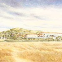 'View to Afton Down'