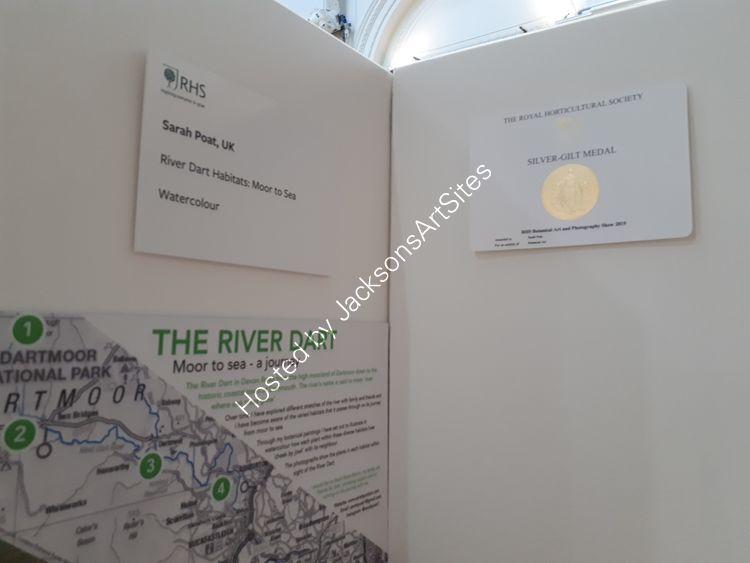 RHS Silver-gilt medal