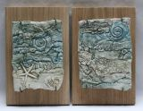 Wood mounted wall plaques