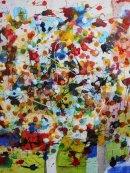 universal bowl of flowers 60 x 60cm