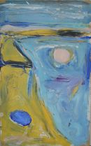face in the sand 31 x 50 cm