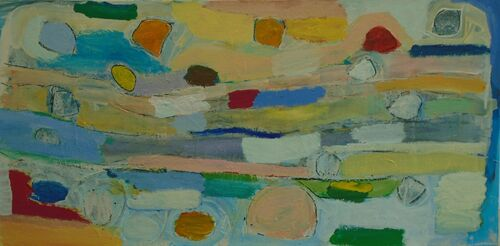 journey of a thousand smiles 50 x 100cm