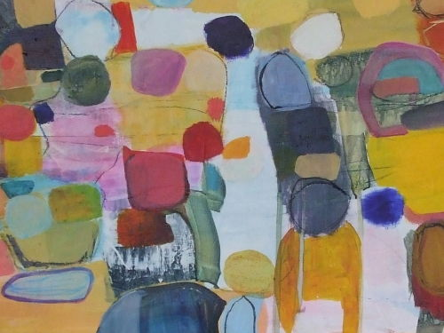 on the road 40x100cm
