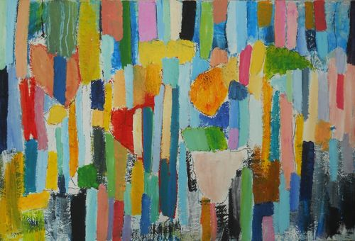 playing in the woods 60 x 90cm £850