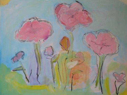 spring 40 x 50cm £150