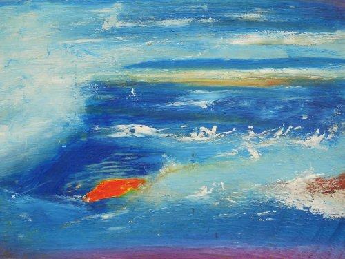 splashing about 30 x 40 cm