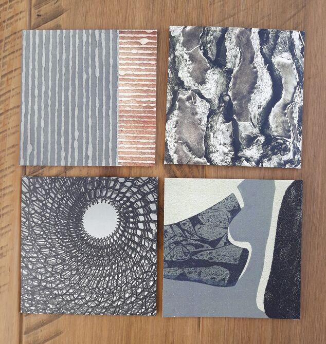 Leather Coasters No. 2