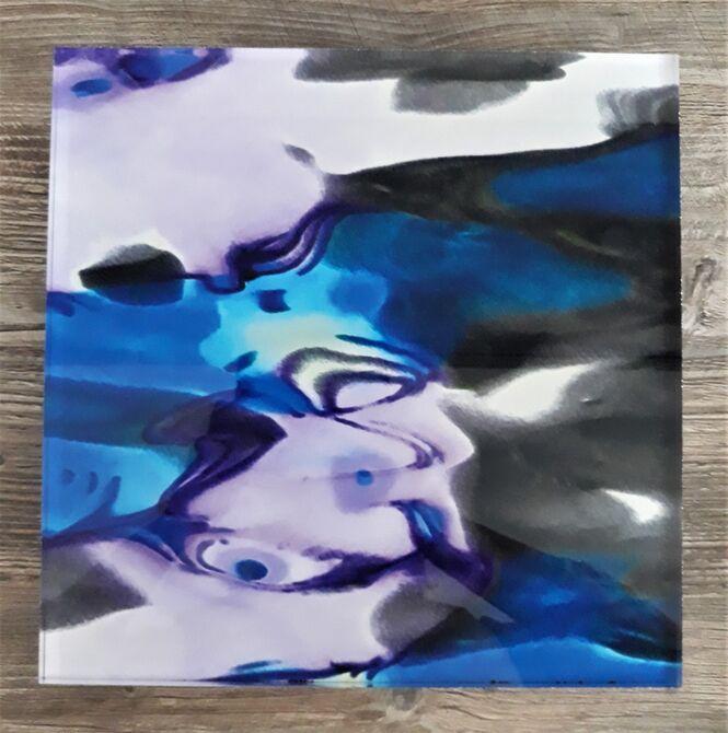 Perspex Digital Print, Watery Neon Night