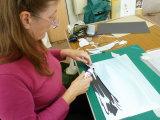 Val Briggs papercutting