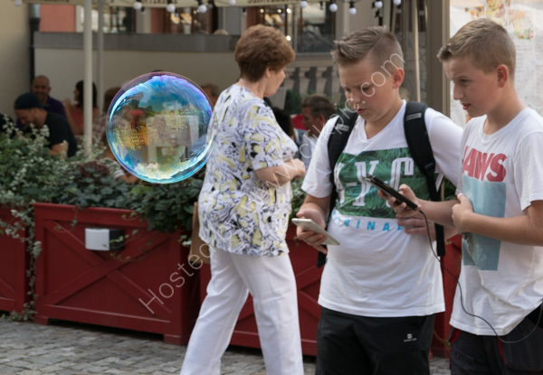 Gdansk - Boys and Bubble